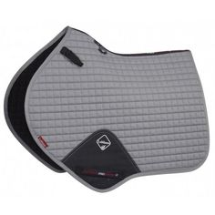LeMieux ProSport Cotton Close Contact Square - Grey - Saddlecloths & Pads - Saddlery - Tack | Equestrian Performance