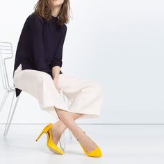 ZARA - WOMAN - HIGH HEEL SHOES WITH BOW