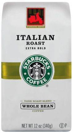 Starbucks Italian Roast Coffee, Whole Bean, 12-Ounce Bags (Pack of 3) * Hurry! Check out this great item : Fresh Groceries