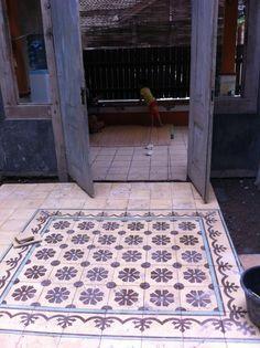 Old Style Tile Kunci Tegel From Jogjakarta Indonesia
