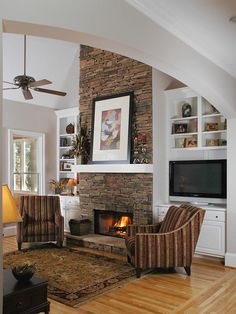 Living Room Ideas With Stone Fireplace 50 sensational stone fireplaces to warm your senses | stone