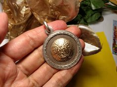 Vintage taxco mexico sterling silver aztec calendar pendant pin huge vintage 10k gold sterling silver plafina mexican aztec calendar pendant by glamaroni on etsy aloadofball Image collections