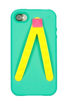 Flip-flop iPhone case - the handles double as hand straps!
