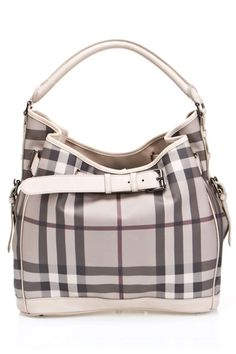 Burberry Ladies Walden Medium Hobo In Trench -