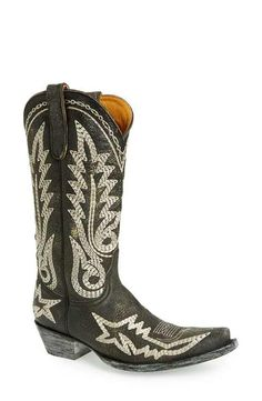 Old Gringo 'Nevada Heavy' Embroidered Leather Boot (Women)