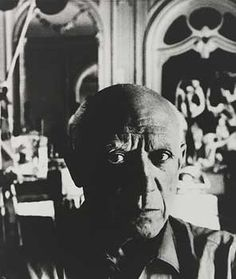 Pablo Picasso by Bill Brandt Pablo Picasso, Picasso Cubism, Man Ray, Bill Brandt Photography, Mougins France, Carleton Watkins, Amazing Photography, Portrait Photography, High Contrast Images