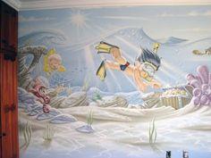 Desenhos artístico e grafiti