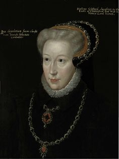 c.1550 Catherine Clifford was the  daughter of Henry de Clifford, 1st Earl of Cumberland, and his second wife Margaret, daughter of Henry Percy, 5th Earl of Northumberland. Catherine married John, 8th Baron Scrope of Bolton, c.1530. Her son Henry, Lord Scrope, married Margaret Howard, 1st cousin once removed of Anne (and Mary Boleyn), and their  son Thomas, Lord Scrope, married Philadelphia Carey, the granddaughter of Mary Boleyn. She was thus an ancestor of the Howe family of military…