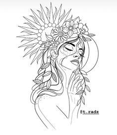 buddha line art tattoo Pencil Art Drawings, Art Drawings Sketches, Easy Drawings, Tattoo Drawings, Hipster Drawings, Cute Tattoos, Body Art Tattoos, Small Tattoos, Flower Hip Tattoos