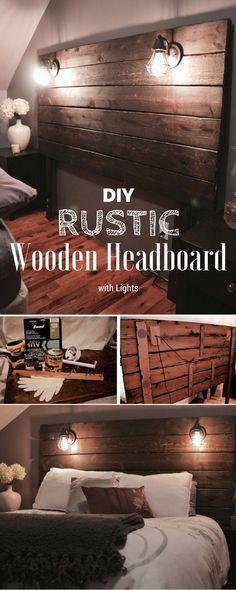 15 Easy DIY Headboard Ideas You Should Try