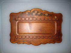 Beautiful Vintage Wooden Souvenir Spoon Display Rack by CookieGrandma60, $21.00