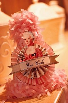 A precious Marie Antoinette - themed birthday party