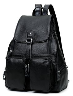 FXTXMX Backpack Purse Genuine Leather Retro Casual Traveling Daypacks for Women Girls