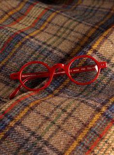 Francois Pinton Archival Round Frame in Red Funky Glasses, Cool Glasses, Glasses Case, Glasses Frames, Eye Glasses, Red Eyeglasses, Round Frame, Reading Glasses, Cat Eye Sunglasses