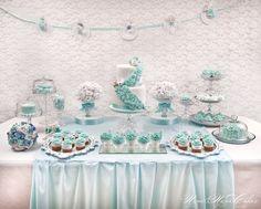 Light Blue Sweet Table