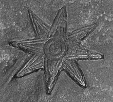Inanna – Wikipedia Detail aus einem Grenzstein des babylonischen Königs Meli-Šipak (1186–1171 v. Chr.). Der achtstrahlige Stern symbolisierte den Planeten Venus (Musée du Louvre, Paris)