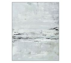 Gray Surf Canvas