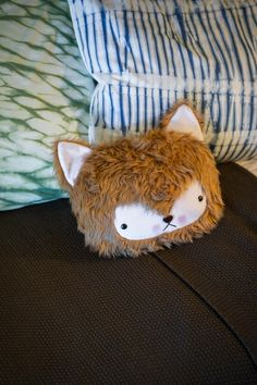 How cute is this fox pillow? Tour the bunk area >> http://www.diynetwork.com/blog-cabin/2015/kids-bunk-pictures-from-diy-network-blog-cabin-2015-pictures?soc=pinterestbc15