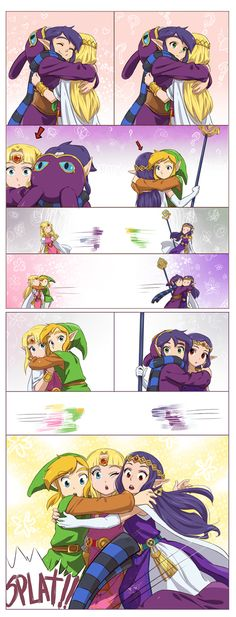The Legend of Zelda: A Link Between Worlds #comic