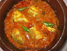 Naadan Ayala Curry /Mackerel Fish Curry Kerala Style Fish Recipes video recipe – The Most Practical and Easy Recipes Fish Curry, Thai Red Curry, Tamarind, Kerala, Seafood Recipes, Cooking, Ethnic Recipes, Kitchen, Tamarindo