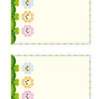 Encourage kids to write poems or letters to friends using this smiling flowers themed printable stationary. Print several copies and bind them together for a simple & nice but cheap present for kids. http://www.freeprintable.com/free-printable-stationary/smiling-flowers-stationary