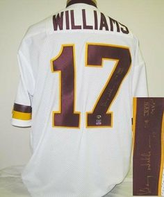 Doug Williams Signed Washington Redskins Jersey with COA by Autograph-Sports 80ca2801f