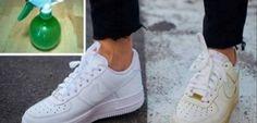 Nous aimons tous les chaussures blanches, n'est-ce pas? Mais, nous savons aussi qu'elles