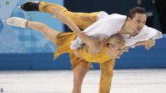 Tatiana Volosozhar and Maxim Trankov, Sochi 2014, Pairs costume inspiration for Sk8 Gr8 Designs