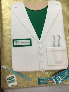 Dentist cake for Dr Halie Bricker's graduation May 2016