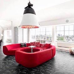 Lady in Red  @icmimaritasarim #sofa #living