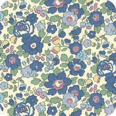 Liberty Betsy bleu vintage Pattern Paper, Pattern Art, Fabric Patterns, Flower Patterns, Print Patterns, Pattern Ideas, Liberty Art Fabrics, Liberty Print, Fabric Textures