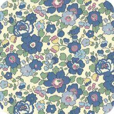 Liberty Betsy bleu vintage Pattern Paper, Pattern Art, Fabric Patterns, Flower Patterns, Print Patterns, Pattern Ideas, Liberty Art Fabrics, Liberty Print, Fabric Textures