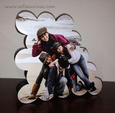 Homemade Photo Frames Made Out of Paper Towel Tubes :: Hometalk
