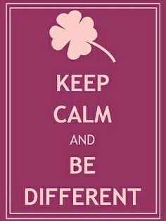 Keep calm and Be different Words Quotes, Wise Words, Sayings, Keep Clam, Just Me, Beautiful Words, Sweet Home, Mental Health, Highlights