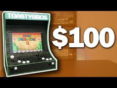 ULTIMATE $100 Arcade Cabinet Build - YouTube Budget Pc Build, Raspberry Pi Models, Plywood Sheets, Retro Games, Arcade Games, Science And Technology, The 100, Make It Yourself, Cabinet