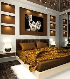 A leglátványosabb hálószobai megoldások - Beépített világítás   femina.hu
