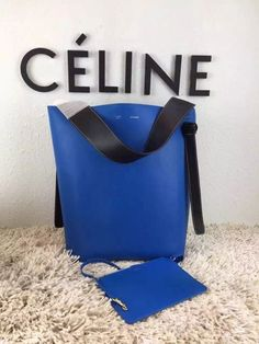 New Colors! 2015 Celine Bags Outlet-Celine Small Twisted Cabas in Multi-color Shiny Smooth Calfskin 176903A900-NR