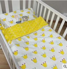 Best New Arrived Hot Ins Crib Bed Linen #Baby Bedding Set# Include Pillow Case+Bed Sheet+Duvet Cover Without Filling Under $29.85 | Dhgate.Com