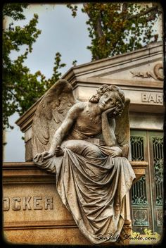 Crocker Angel : angel photo art nouveau statue sculpture cemetery photography ethereal home decor fine art print 8x12 12x18 16x24 20x30 by SeaLilyStudio on Etsy https://www.etsy.com/listing/51425971/crocker-angel-angel-photo-art-nouveau
