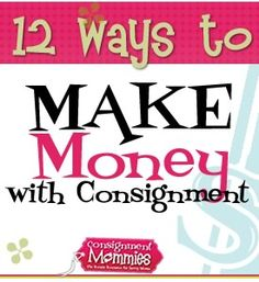 making money with kids consignment sales