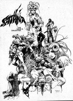 Satana by Esteban Maroto