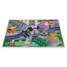 Minnie Mouse and Daisy Paris Play Mat & Vehicles Play Set | Play Sets & More | Disney Store $15.00