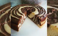 Low Carb Zebra Cake ziet er niet alleen gezellig uit maar is ook heerlijk luchtig.