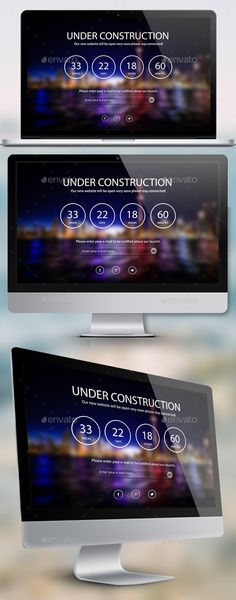 Under Construction Night Page - #404 Pages #Web Elements Download here: https://graphicriver.net/item/under-construction-night-page/10126513?ref=alena994