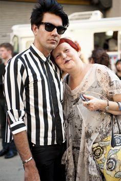 Writer Lynn Yaeger (at right) punk rock never left New York?