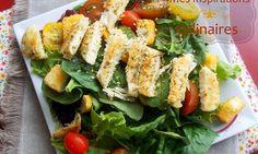 Salade de poulet grillé froid | Le Blog cuisine de Samar