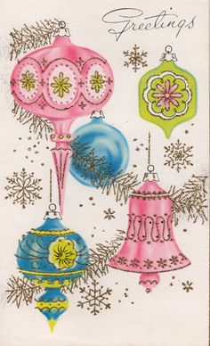 vintage christmas postcards | The Skillful Bee: Vintage Christmas Cards