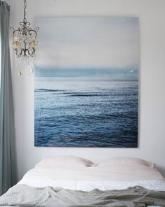 Photographer Ditte Isager's bedroom in her Danish cottage | domino.com big nature photos
