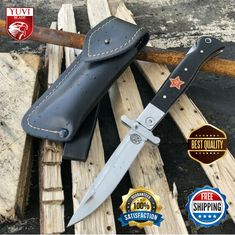 Folding Pocket Knife, Survival Knife, Edc, Handle, Camping, Campsite, Campers, Every Day Carry, Door Knob