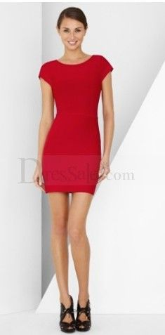 Red Lipstick Paris Dress